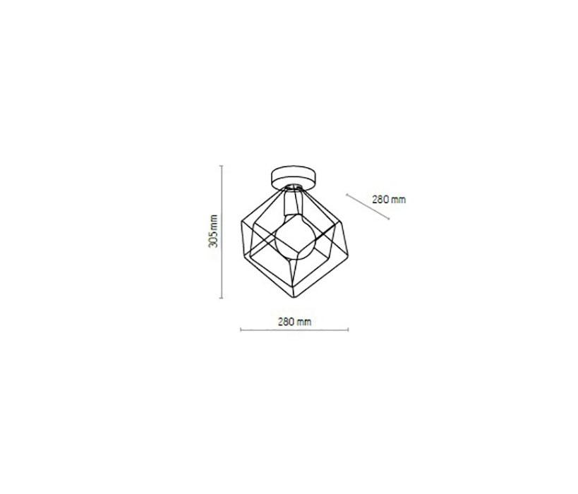 TK Lighting TK-5450 Alambre asztali lámpa / hangulatfény /