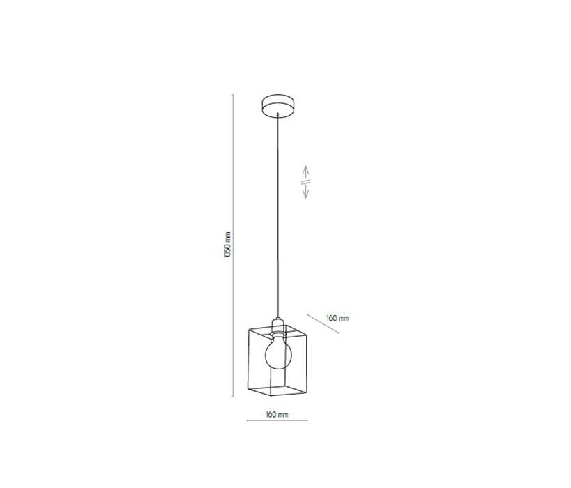 TK Lighting TK-4199 Cayo lámpa függeszték