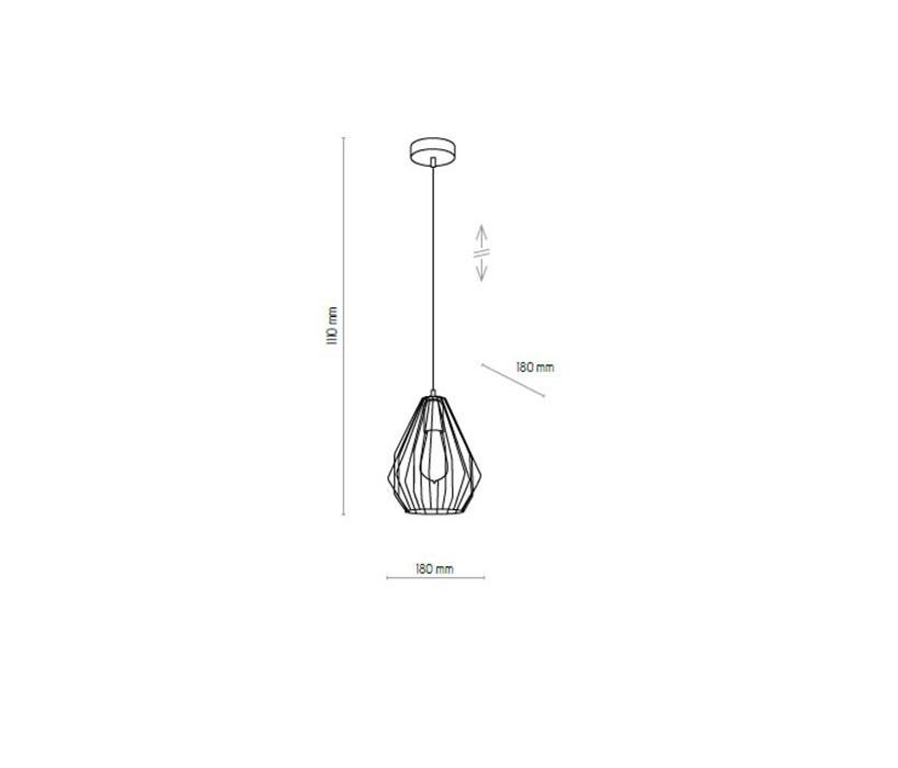 TK Lighting TK-2787 Brylant lámpa függeszték