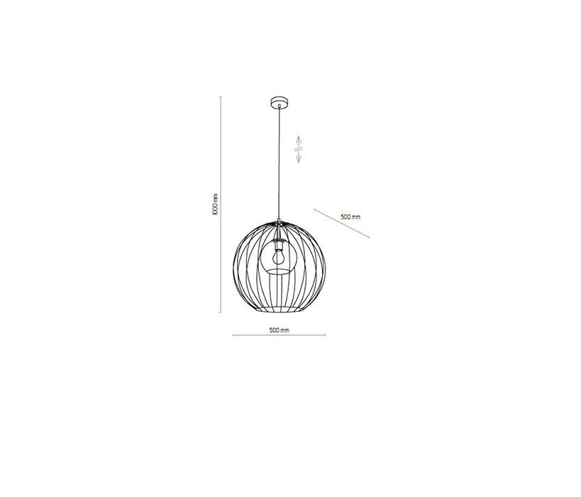 TK Lighting TK-2555 Universo lámpa függeszték