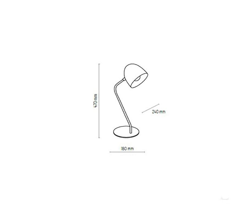 TK Lighting TK-5036 Soho íróasztali lámpa