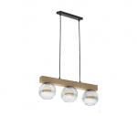 TK Lighting TK-4254 Artwood Glass lámpa függeszték