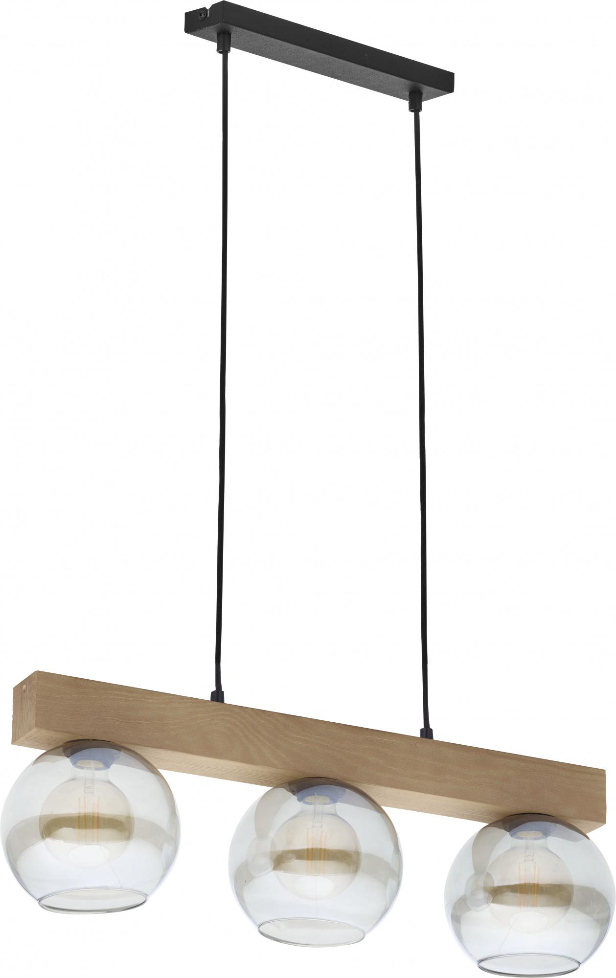 TK Lighting TK-4254 Artwood Glass lámpa függeszték