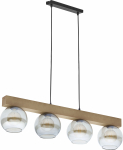 TK Lighting TK-4255 Artwood Glass lámpa függeszték