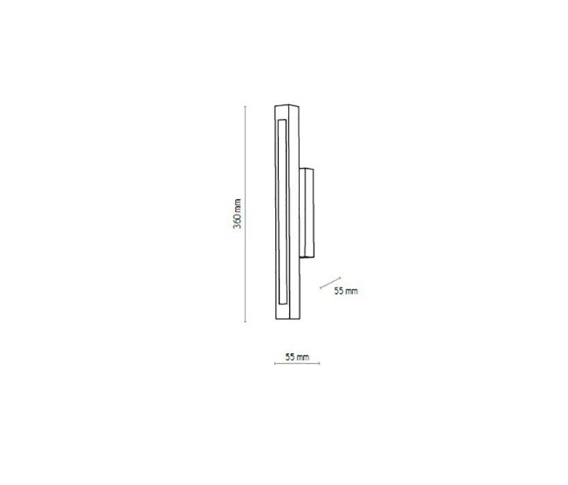 TK Ligthing TK-1399 Trento LED falikar