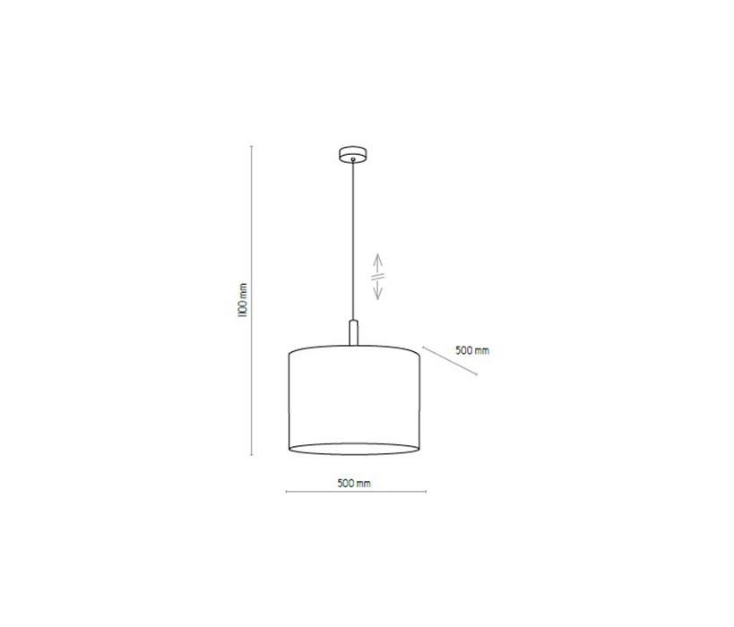 TK Lighting TK-4107 Deva lámpa függeszték