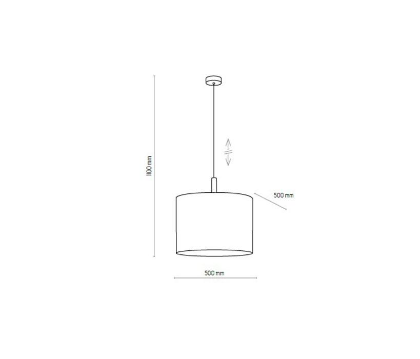 TK Lighting TK-4109 Deva lámpa függeszték