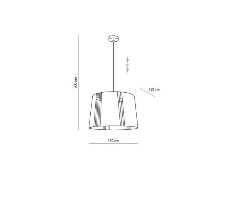 TK Lighting TK-1547 Carmen lámpa függeszték