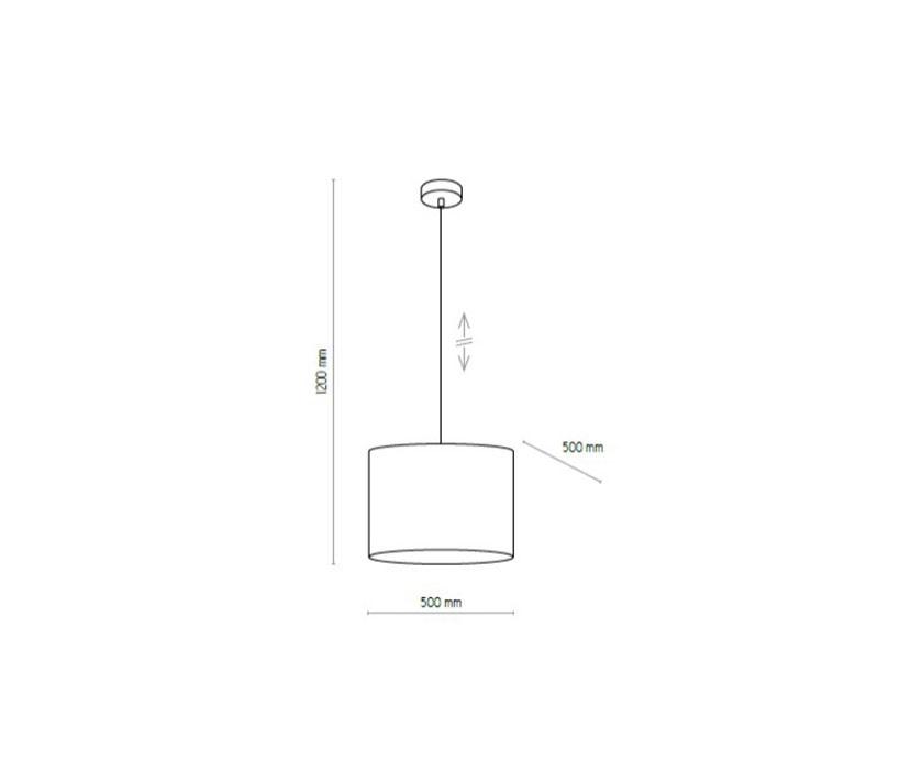TK Lighting TK-4115 Mia függeszték