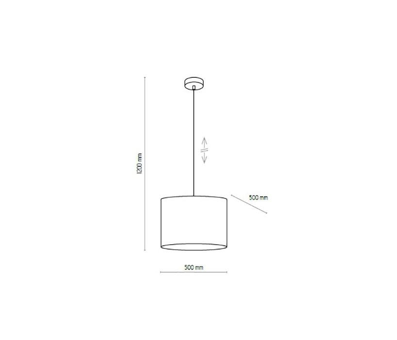 TK Lighting TK-4282 Mia függeszték