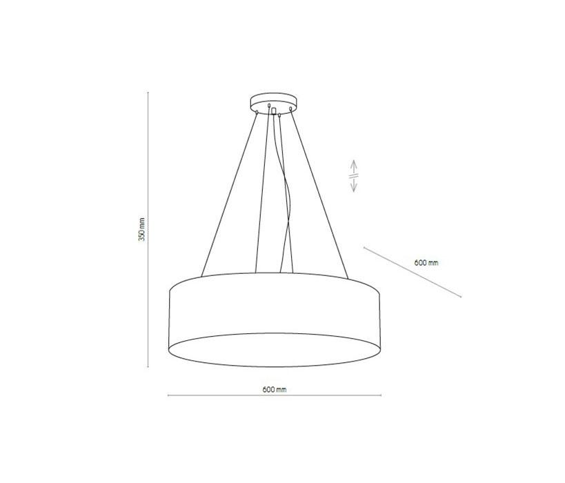 TK Lighting TK-4241 Vienna függeszték