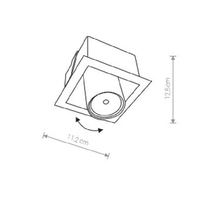 Nowodvorski TL-8936 Eye Mod beépíthetõ lámpa