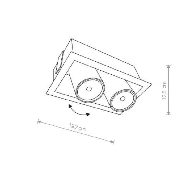 Nowodvorski TL-8940 Eye Mod beépíthetõ lámpa
