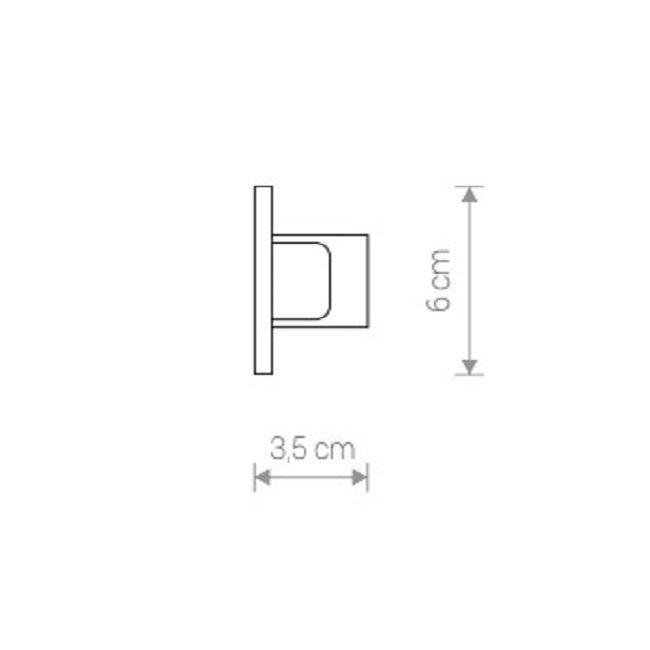 Nowodvorski TL-8974 Profile beépíthetõ végzáró elem
