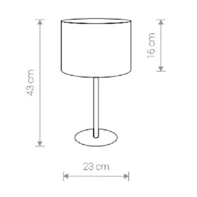 Nowodvorski TL-8982 Hotel asztali lámpa