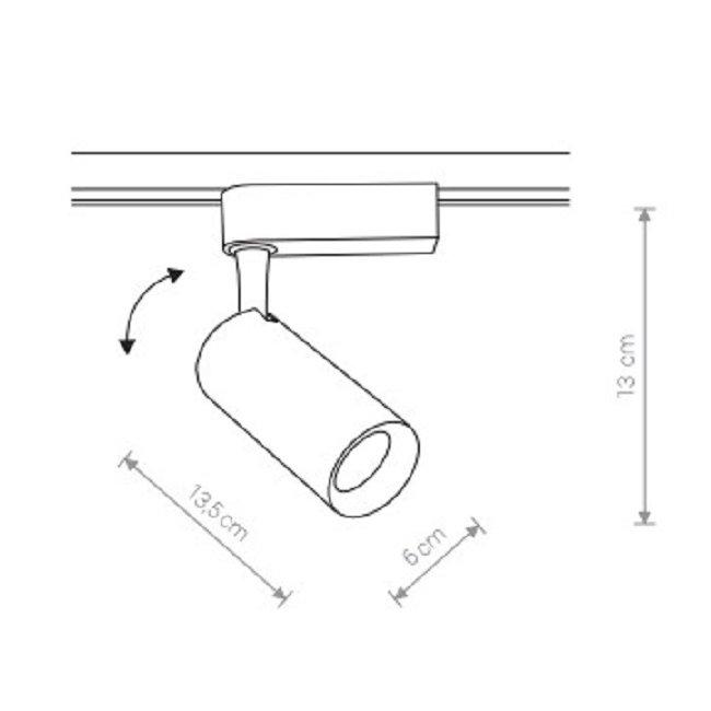 Nowodvorski TL-9006 Profile Iris LED sínrendszeres lámpa