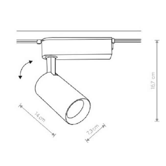 Nowodvorski TL-9011 Profile Iris LED sínrendszeres lámpa