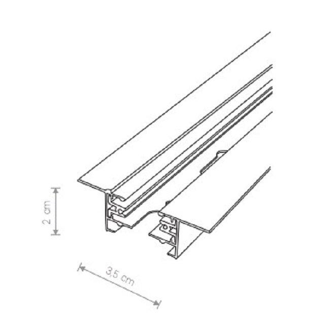 Nowodvorski TL-9012 Profile beépíthetõ sínelem