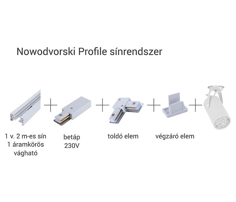 Nowodvorski TL-9451 Profile sínelem