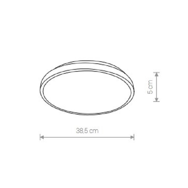Nowodvorski TL-9160 Agnes Round LED mennyezeti lámpa