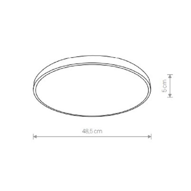 Nowodvorski TL-9163 Agnes Round LED mennyezeti lámpa