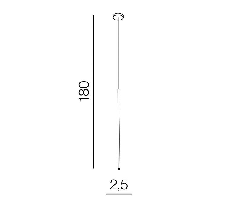 AZzardo AZ-3155 Louise LED függeszték