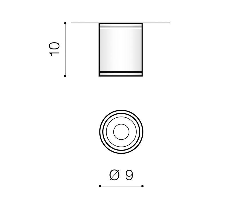 AZzardo AZ-3315 Joe kültéri mennyezeti lámpa
