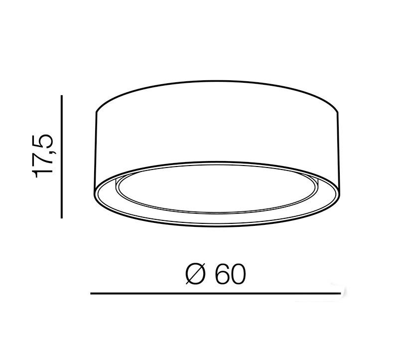 AZzardo AZ-3332 Milo mennyezeti lámpa