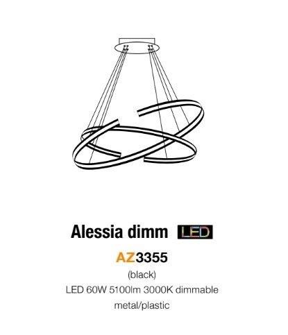 AZzardo AZ-3355 Alessia LED függeszték