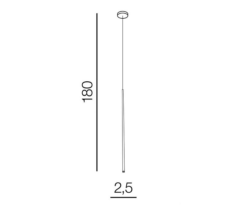 AZzardo AZ-3418 Louise LED függeszték