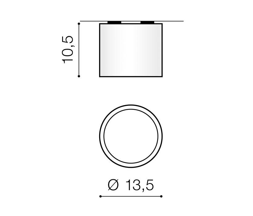 AZzardo AZ-3540 Alix mennyezeti lámpa