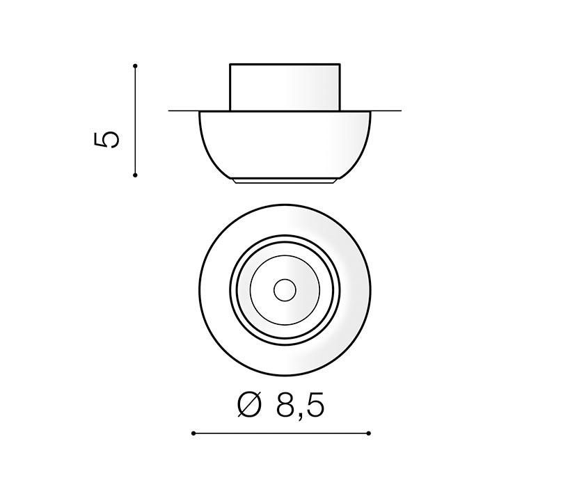 AZzardo AZ-3398 Nemo beépíthetõ lámpa