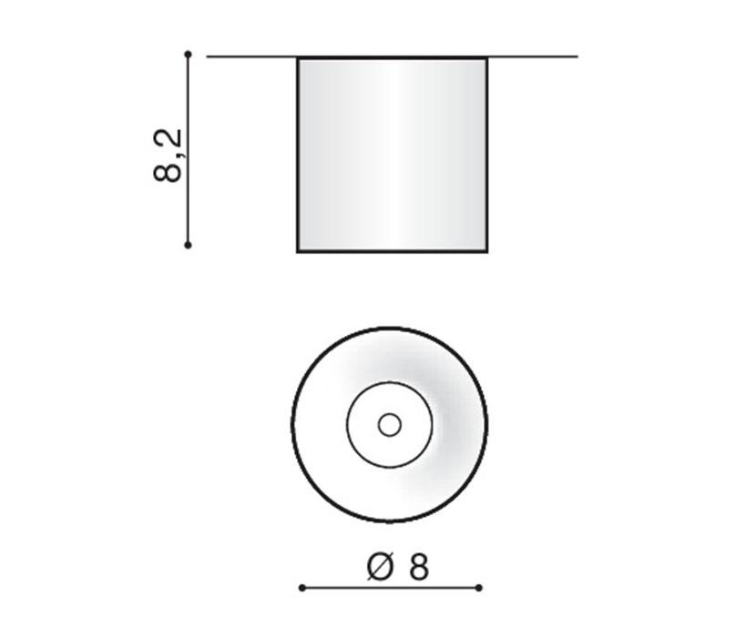 Azzardo AZ-2845 Mane LED mennyezeti lámpa