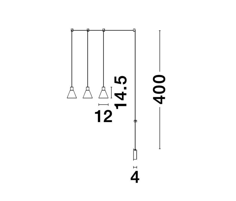 Nova Luce NL-9028813 Marce LED függeszték