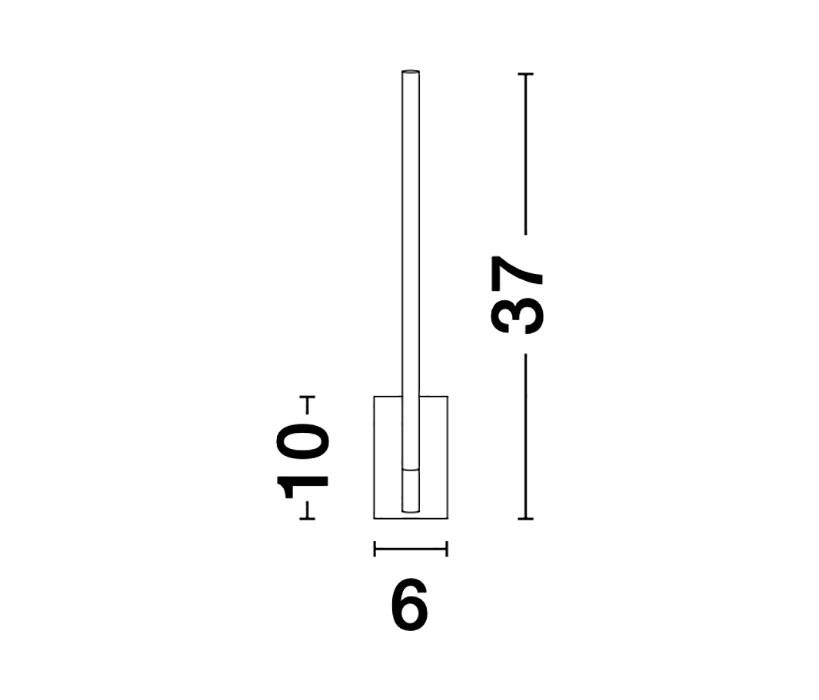 Nova Luce NL-9180711 Raccio LED falikar