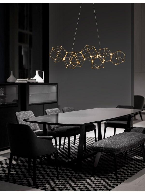 Nova Luce NL-9186807 Nebula LED függeszték