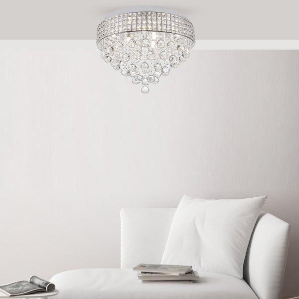 Zuma ZU-19027-L Capri kristály mennyezeti lámpa