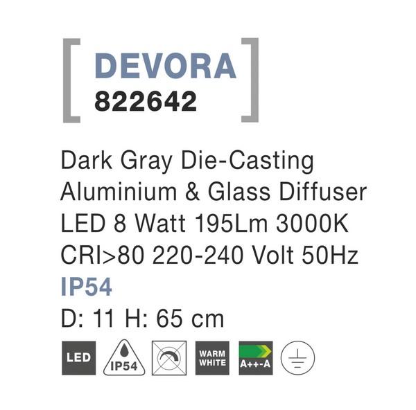 Nova Luce NL-822642 Devora LED kültéri állólámpa