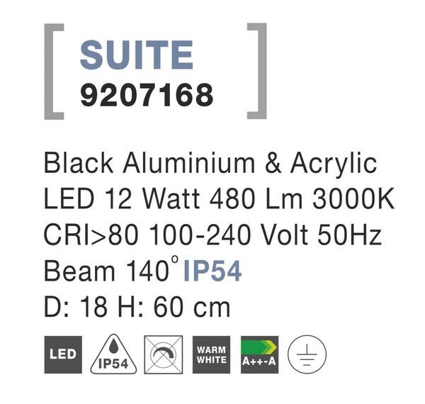 Nova Luce NL-9207168 Suite LED kültéri állólámpa