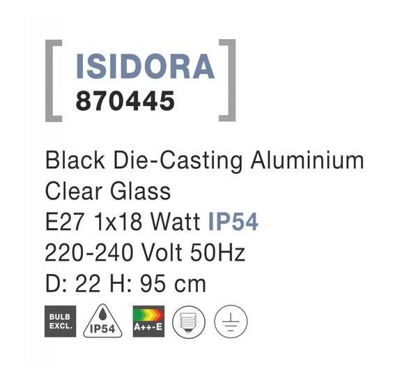 Nova Luce NL-870445 Isidora kültéri függeszték