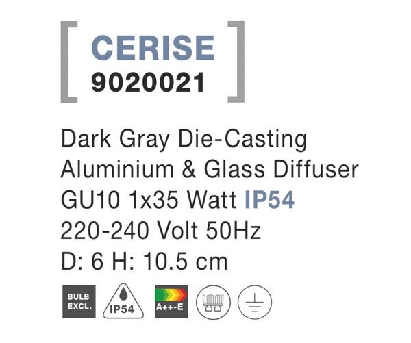 Nova Luce NL-9020021 Cerise kültéri mennyezeti lámpa