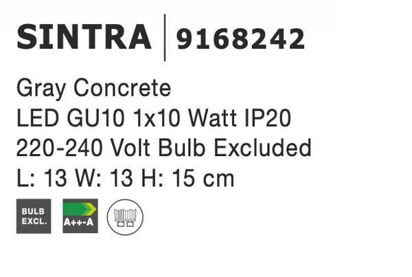 Nova Luce NL-9168242 Sintra mennyezeti lámpa