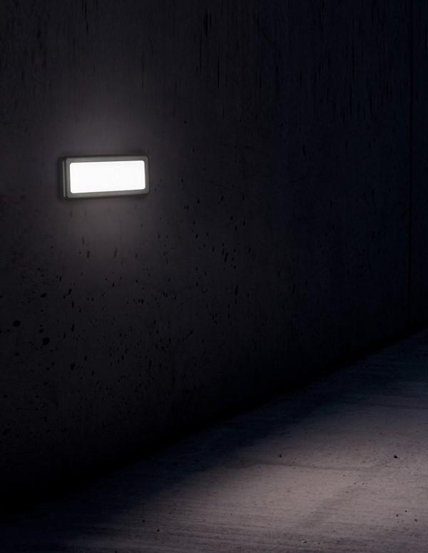 Nova Luce NL-812103 Pulsar LED kültéri lépcsõvilágító lámpa