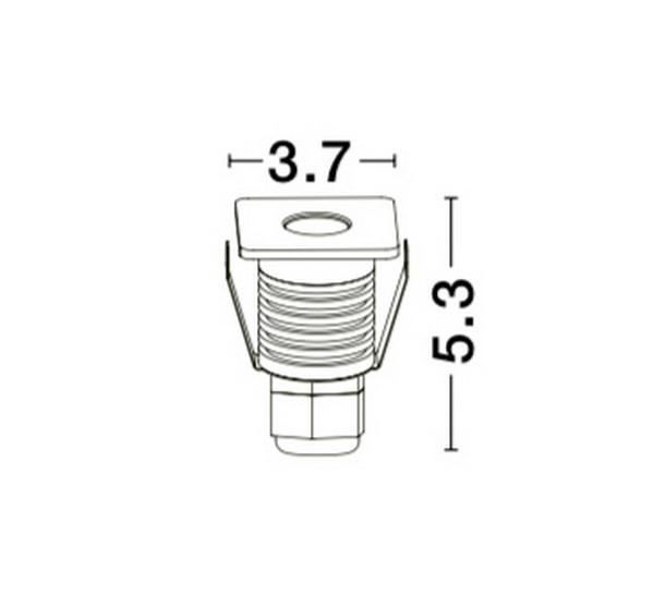 Nova Luce NL-9019213 Bang beépíthetõ lámpa