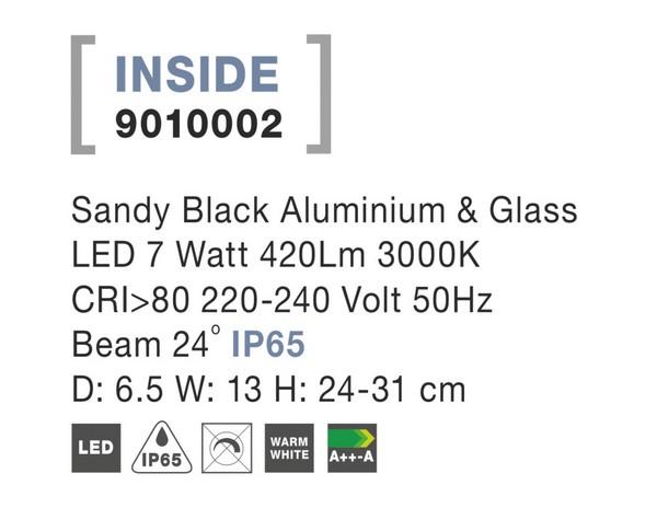 Nova Luce NL-9010002 Inside LED kültéri hangulatvilágítás