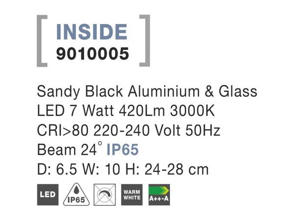 Nova Luce NL-9010005 Inside LED kültéri hangulatvilágítás