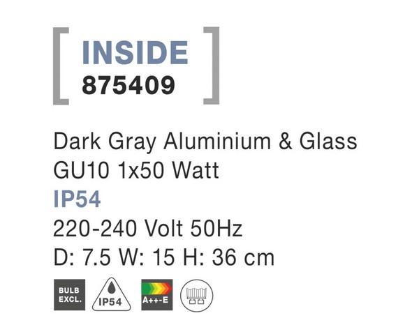 Nova Luce NL-875409 Inside kültéri hangulatvilágítás