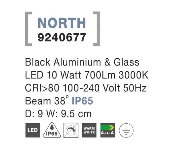 Nova Luce NL-9240677 North LED kültéri hangulatvilágítás
