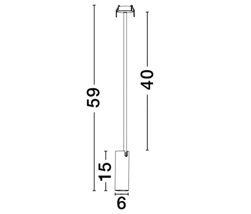 Nova Luce NL-7409601 Brando beépíthető lámpa