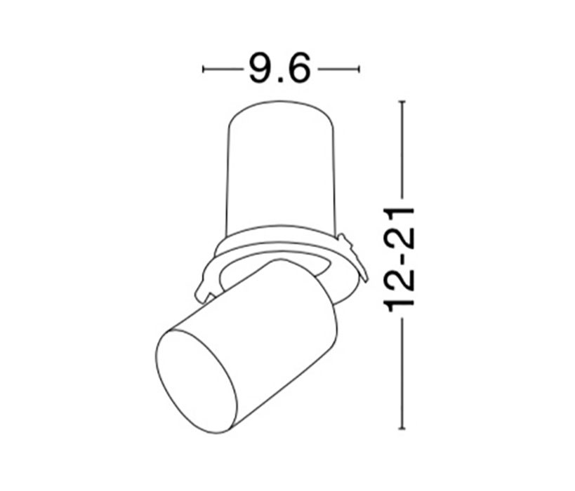 Nova Luce NL-7770443 Track beépíthető mennyezeti lámpa